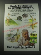 1991 Miracle-Gro No-clog-2 Ad - the perfect gardening tool