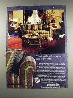 1991 Thomasville Upholstered Furniture Ad - Thomasville makes elegance easy