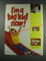 1991 Huggies Pull-ups Ad - I'm a big kid now!