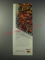 1991 Weight Watchers London Broil Ad - Feast on our London Broil