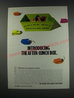 1991 Tetra Pak Combibloc Drink Boxes Ad - Itroducing the after-lunch box