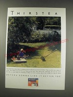 1991 Tetley Tea Ad - Thirstea
