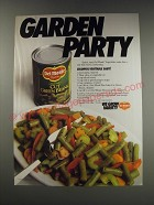 1991 Del Monte Cut Green Beens Ad - recipe for Colorful Vegetable Saute