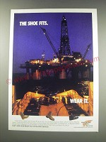 1991 Red-Wing Steel-Toe Shoes Ad - The shoe fits. Wear it