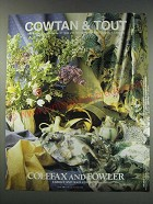 1991 Cowtan & Tout Colefax and Fowler Fabrics and Wallcoverings Ad