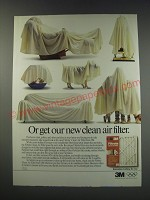 1991 3M Filtrete Clean Air Filter Ad - Or get our new clean air filter
