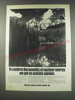 1991 U.S. Council for Energy Awareness Ad - To confirm the benefits of nuclear