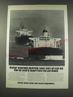 1991 U.S. Council for Energy Awareness Ad - Nuclear-generated electricity saves