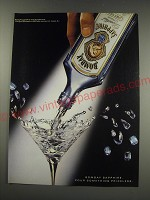 1991 Bombay Sapphire Gin Ad - Bombay Sapphire. Pour Something Priceless.