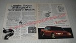 1990 Chevrolet Lumina Sedan Ad - It's designed to steer clear of trouble