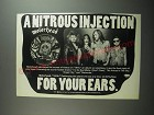 1991 Motorhead 1916 Album Ad - A nitrous injection for your ears