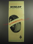 1948 Dunlop Tires Ad
