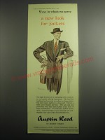 1948 Austin Reed Single-Breasted Suit Ad - Ways in which we serve a new look