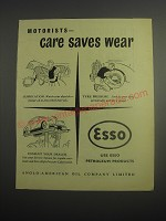 1948 Esso Petroleum Products Ad