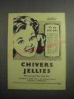 1948 Chivers Jellies Ad - It's my big day