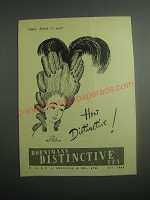 1948 Hornimans Distinctive Tea Ad - 1779 Court of Marie Antoinette