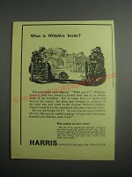 1948 Harris Bacon Ad - What is Wiltshire bacon?