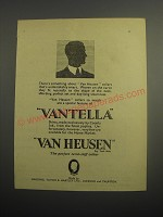 1948 Van Heusen Collars and Vantella Shirts Ad - There's something about