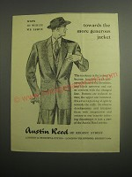 1948 Austin Reed Jacket Ad - Ways in which we serve towards the more generous