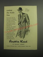 1948 Austin Reed Double-Breasted Jacket Ad - Easing the body line