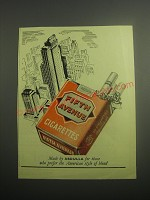 1948 Abdulla Fifth Avenue Cigarettes Ad - Made by Abdulla for those who prefer