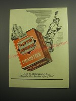 1948 Abdulla Fifth Avenue Cigarettes Ad - Statue of Liberty