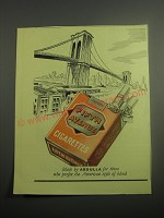 1948 Abdulla Fifth Avenue Cigarettes Ad - American Style of Blend