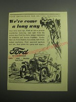 1948 Ford Cars Ad - We've come a long way