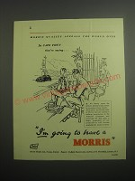 1948 Morris Cars Ad - In Cape Town they're saying