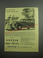 1948 Austin A125 Sheerline Car Ad - In England's Proud Tradition