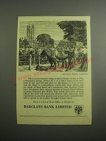 1948 Barclays Bank Ad - The Cattle Market, Canterbury