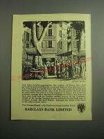 1948 Barclays Bank Ad - A French Market
