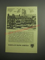 1948 Barclays Bank Ad - York Saturday Market