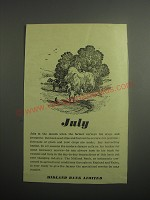 1948 Midland Bank Limited Ad - July