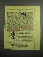 1948 Whitbread Ale and Stout Ad - Mr. Whitbread erected a Monument