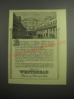 1948 Whitbread Ale and Stout Ad - A Landmark in the history of Whitbread's