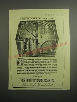 1948 Whitbread Ale and Stout Ad - Whitbread in English History