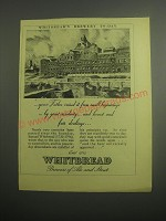 1948 Whitbread Ale and Stout Ad - Whitbread's Brewery to-day
