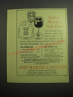 1948 John Harvey & Sons Sherry and Port Ad