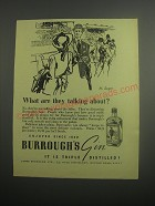 1948 Burrough's Gin Ad - St. Leger What are they talking about?