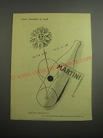 1948 Martini Vermouth Ad - With Gin.. This is It