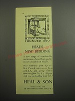 1948 Heal & Son Ad - Heal's new bedding