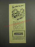 1948 Nescafe Coffee Ad