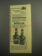 1948 Monte Aguila and Tia-Maria Liqueur Ad - Two superb liqueurs from Jamaica