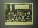 1948 Stuart Crystal Ad - Flawless materials, delicately wrought