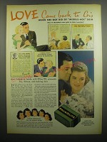 1937 Palmolive Soap Ad - Dionne Quintuplets - Love came back to Lois