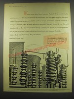 1949 The Chloride Electrical Storage Company Exide Batteries Ad - Power Station