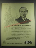 1949 Thermos Products Ad - Report from Belgium The other end of the Export drive
