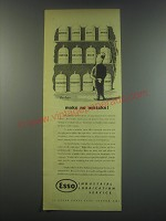 1949 Esso Industrial Lubrication Service Ad - make no mistake