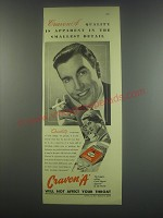 1949 Craven A Cigarettes Ad - quality is apparent in the smallest detail